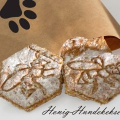 Hundekekse mit Honig