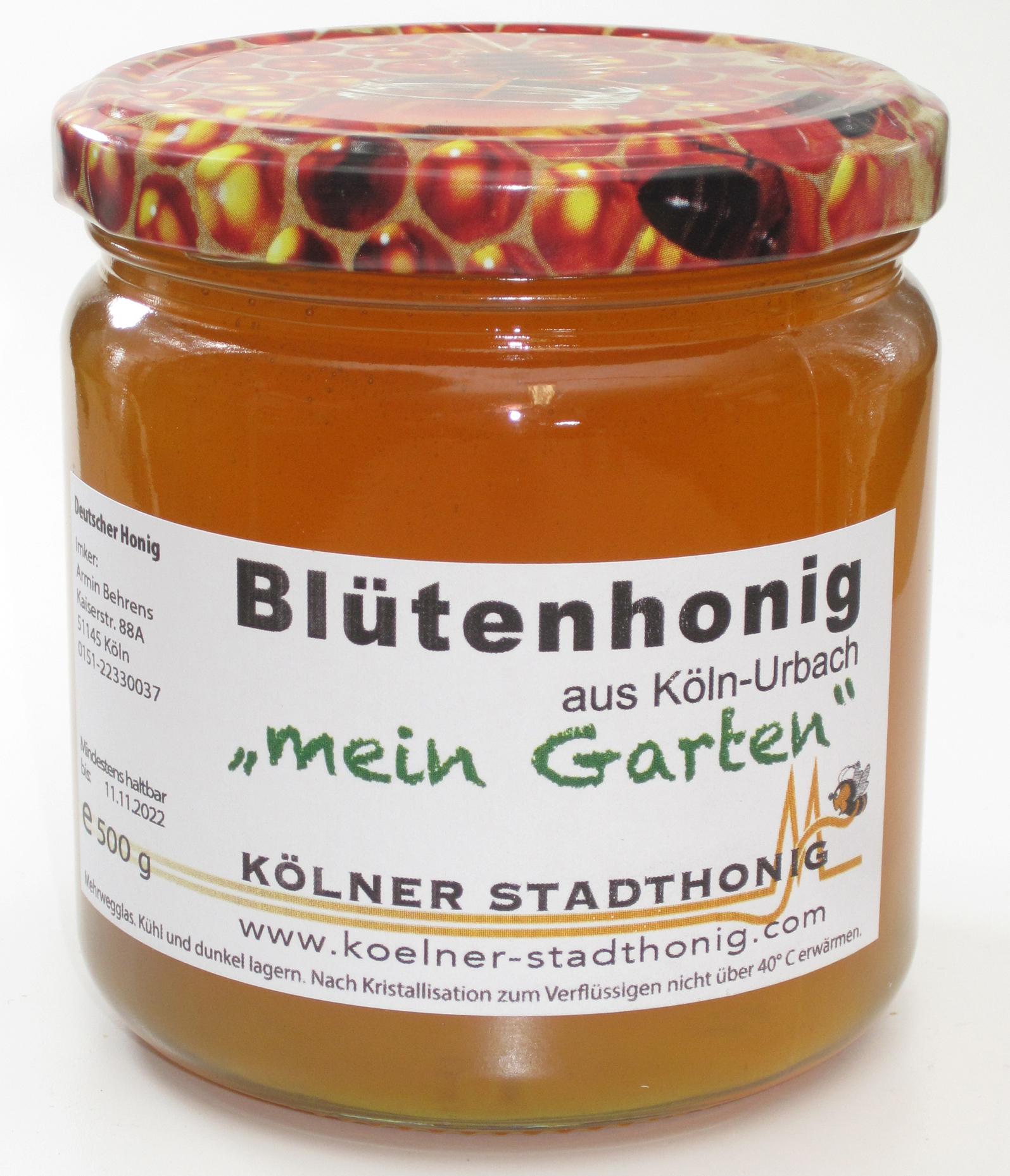 Honig aus meinem Garten in Urbach
